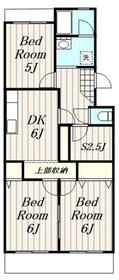 湘南台駅 徒歩10分4階Fの間取り画像