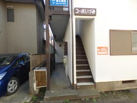 アパート入り口