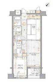 クリオ鶴見八番館8階Fの間取り画像