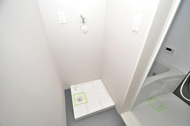 AirCity(エアシティ) 室内に洗濯機置き場があれば雨の日でも安心ですね。
