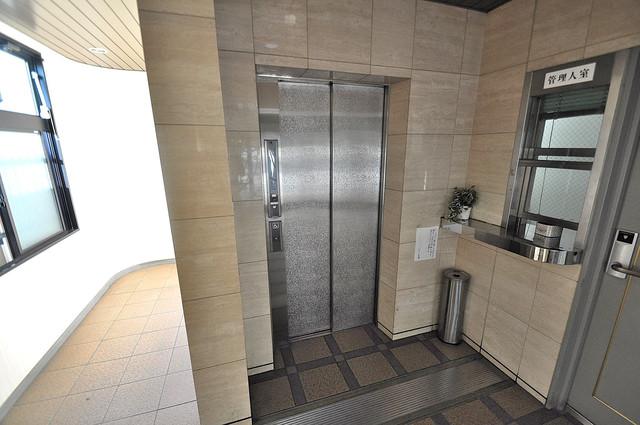 ルヴェール光陽園 エレベーター付き。これで重たい荷物があっても安心ですね。