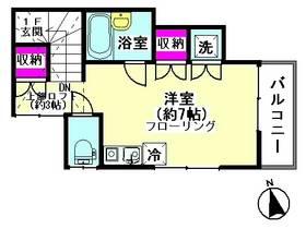 ベルドゥ下丸子 202号室