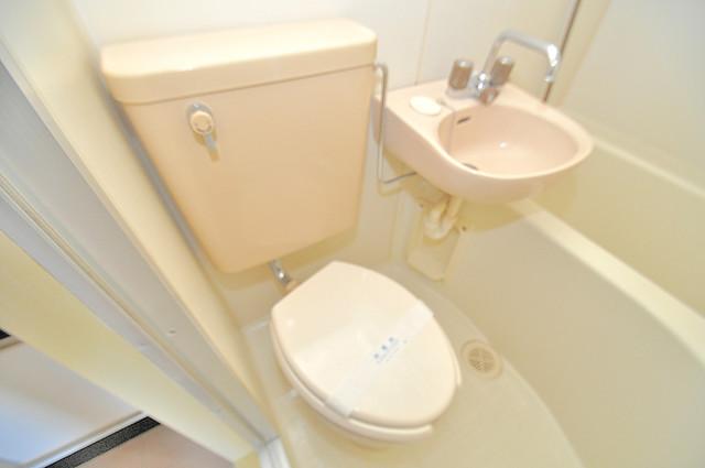 すばる若草 清潔感たっぷりのトイレです。入るとホッとする、そんな空間。