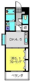 日吉駅 徒歩13分1階Fの間取り画像