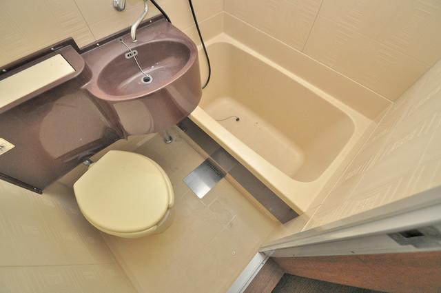 プレアール菱屋西 お風呂・トイレが一緒なのでお部屋が広く使えますね。