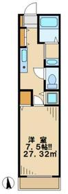 カーサグランデ2階Fの間取り画像