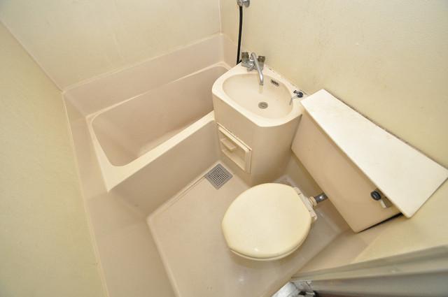 小路東ハイツⅡ シャワー1本で水回りが簡単に掃除できますね。