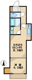 ソラーナ2階Fの間取り画像