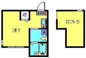 リヴィエールマツダ2階Fの間取り画像