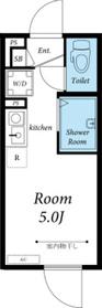 リブリ・アムール2階Fの間取り画像