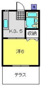 新羽駅 徒歩23分1階Fの間取り画像