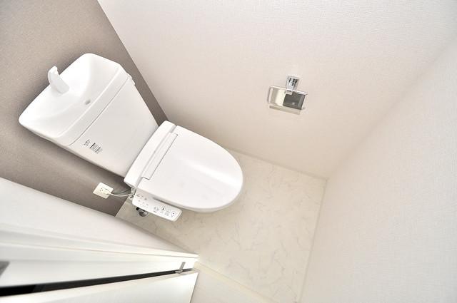 ベルンガーデン巽 清潔感のある爽やかなトイレ。誰もがリラックスできる空間です。
