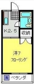 U.HEIGHTS No.11階Fの間取り画像