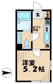 アザーレ永山42階Fの間取り画像