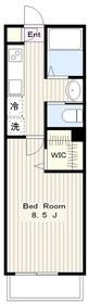 ヴェルドミール玉川学園Ⅱ1階Fの間取り画像