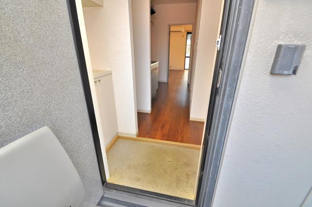 ブリエール布施A棟 素敵な玄関は毎朝あなたを元気に送りだしてくれますよ。