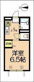ピューピル西青木2階Fの間取り画像