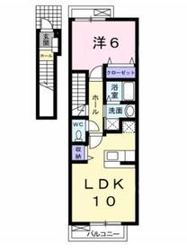 ヌーベル212階Fの間取り画像