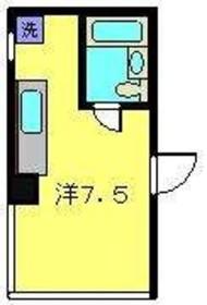 塚平ビル3階Fの間取り画像
