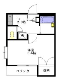 ソレーユ鷺宮2階Fの間取り画像