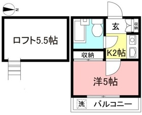 相武台前駅 徒歩8分2階Fの間取り画像