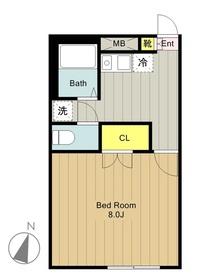 高座渋谷駅 車14分4.4キロ1階Fの間取り画像