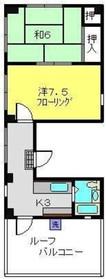 サンシャインタイセイ4階Fの間取り画像