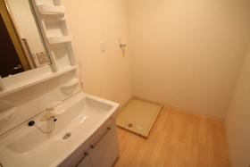室内洗濯機置き場!