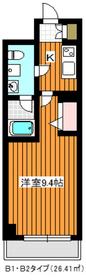 リルシア成増2階Fの間取り画像