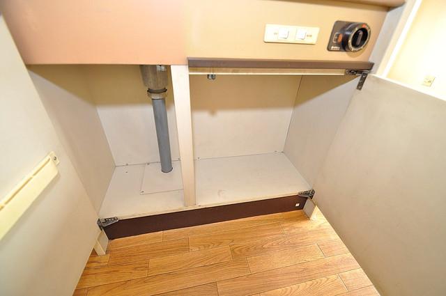 ムーンシングルエイト 各所に収納があるので、お部屋がすっきり片付きますね。