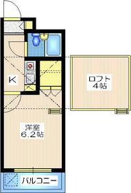 ミ・アビタシオン・ノザワ2階Fの間取り画像
