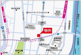 カスタリアタワー品川シーサイド案内図