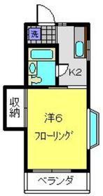 神奈川駅 徒歩20分2階Fの間取り画像