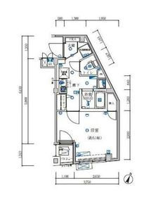 GRACE HILLS YOKOHAMA1階Fの間取り画像