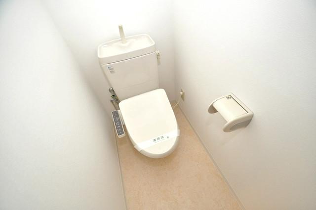 フレンテ田中 清潔感のある爽やかなトイレ。誰もがリラックスできる空間です。