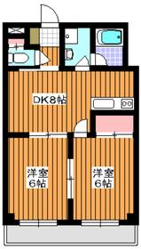 成増駅 徒歩3分3階Fの間取り画像