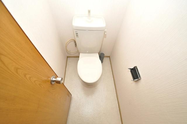 永和ハイツ スタンダードなトイレは清潔感があって、リラックス出来ます。