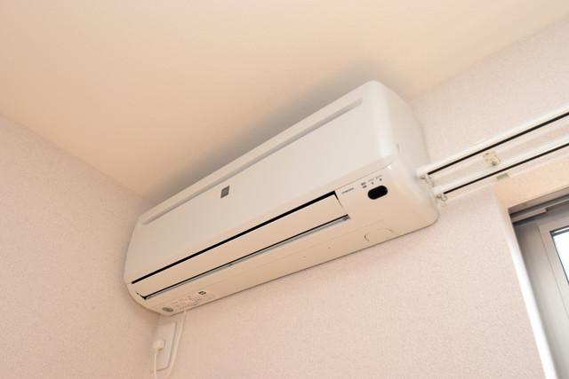 タケハウス5 最初からエアコンが付いているなんてお得ですね