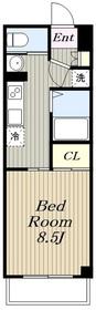 下飯田駅 徒歩18分7階Fの間取り画像