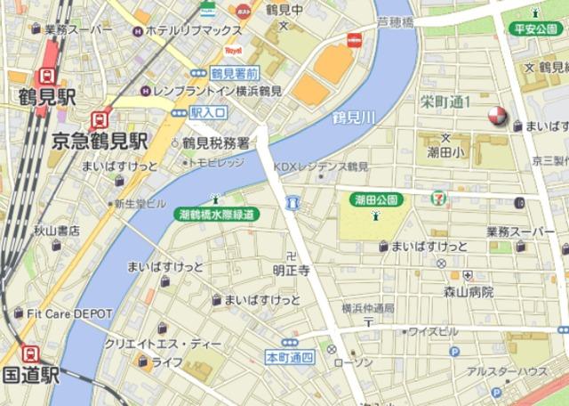 三坂ハイム案内図