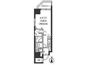 レジディア新御茶ノ水8階Fの間取り画像
