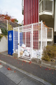 敷地内ゴミ集積所があります。