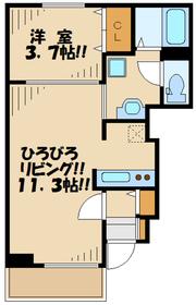 南町田駅 徒歩14分1階Fの間取り画像