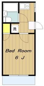 フレンドポート橋本3階Fの間取り画像