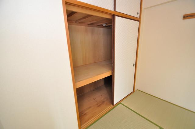 カーサヴェルデ 各所に収納があるので、お部屋がすっきり片付きますね。