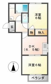 日野駅 徒歩27分2階Fの間取り画像