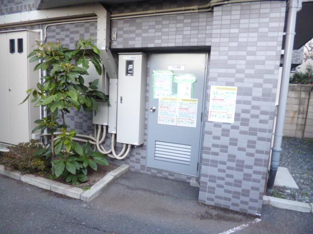 スカイコート早稲田第2共用設備