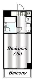 TIKビル7階Fの間取り画像