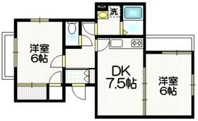 シェルム経堂1階Fの間取り画像
