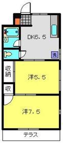 プラムハウス1階Fの間取り画像